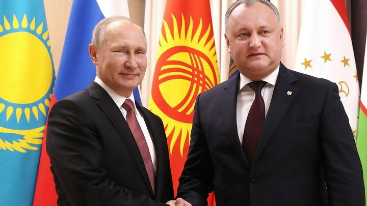 Статус наблюдателя при ЕАЭС дал Молдавии неоспоримый козырь - Додон
