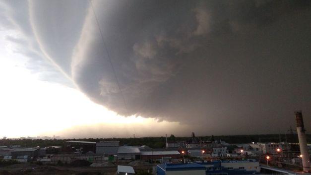Над Красноярском нависло «черное небо»