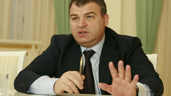 Экс-министр Сердюков впервые заговорил после увольнения из Минобороны
