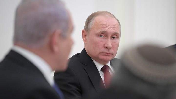 Нетаньяхупредупредил Путина о войне с сухопутным вторжением и ракетным ударом - СМИ