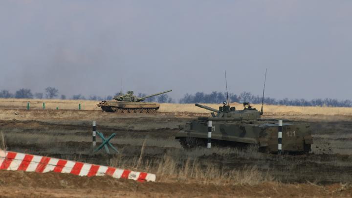 Цель уничтожить: Танкисты из Ростовской области участвуют в Танковом биатлоне