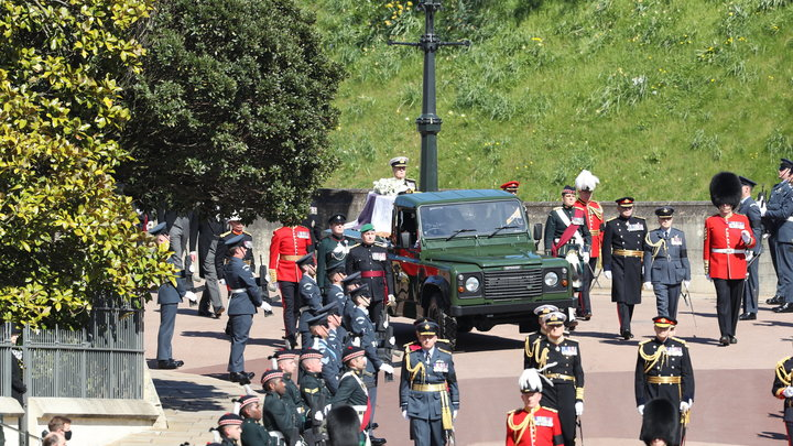 В Британии осквернили похороны принца Филиппа