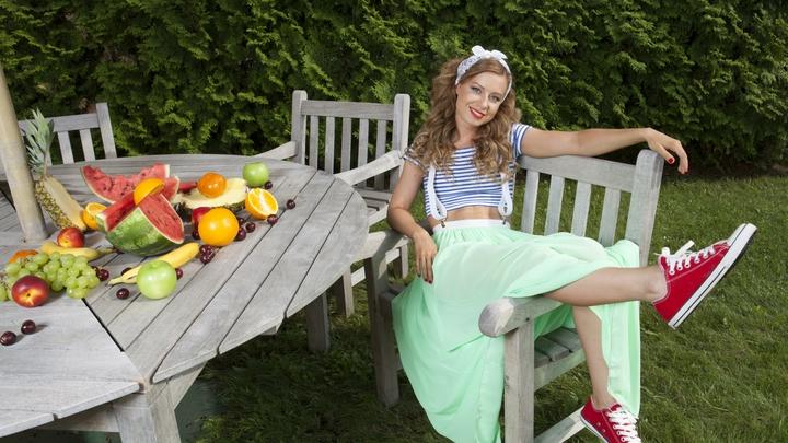 Юлия Савичева примеряет на себя роль брутального шансонье: Певица участвует в новом шоу