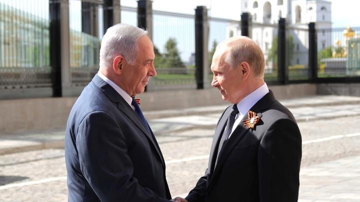 Условие Путина - Нетаньяху: Стоит не только говорить о проблемах Ближнего Востока, но и искать пути решения