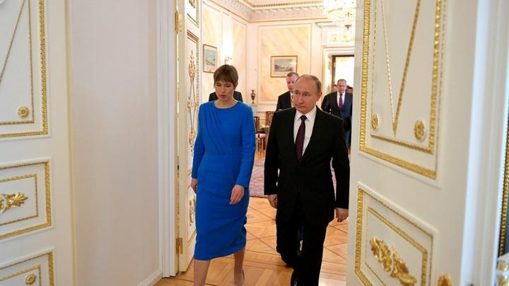 МИД Эстонии насторожила идея Кальюлайд позвать Путина в гости