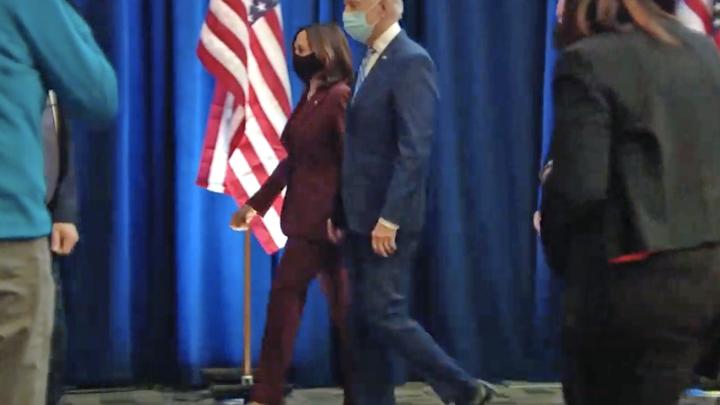 Завидует весь мир: Итоги выборов в США - бунт BLM и летящая походка Байдена
