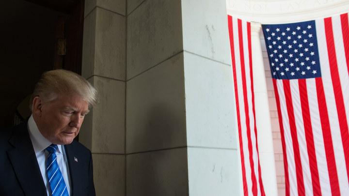 Американцы отказали Трампу в работе на посту президента США - опрос