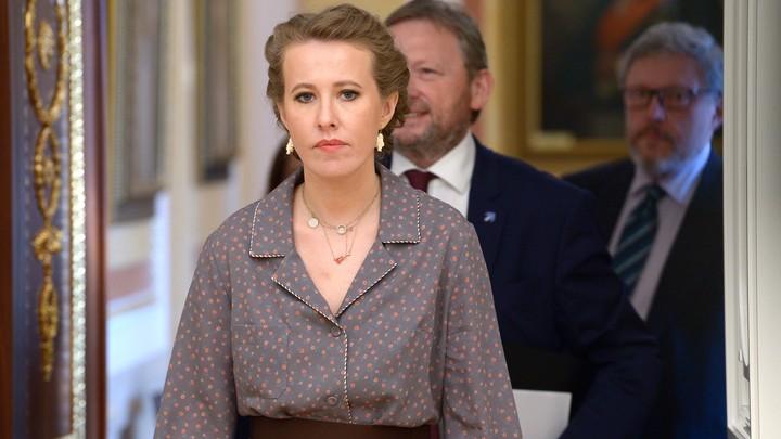 Решила стать эмиром Катара: Собчак не собирается бороться за пост губернатора Петербурга