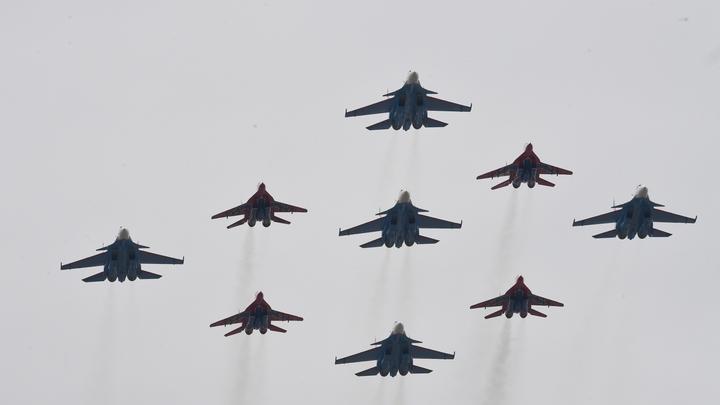 В Крыму отрепетировали отражение авианалета НАТО и США