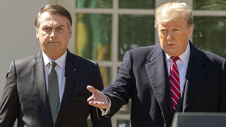 Американский пряник: США лепят из Бразилии послушного союзника