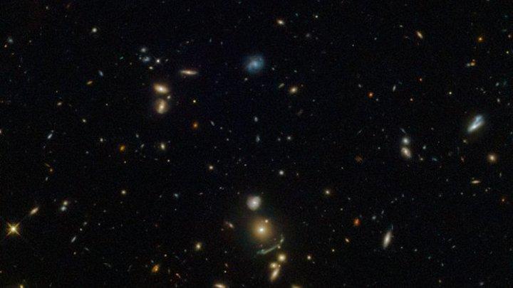 Хаббл поймал космическую арку, способную объяснить тайны Вселенной