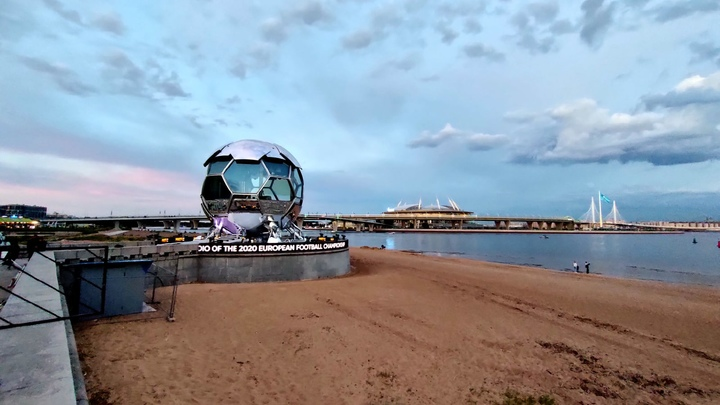 Евро 2020 под дождем: Синоптики предупредили об ухудшении погоды в Санкт-Петербурге