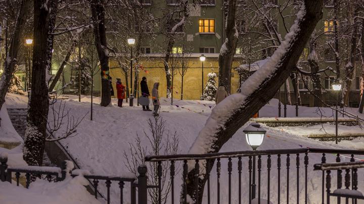 В Москве обвалился грунт при строительстве станции метро