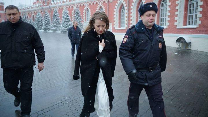 Киевские власти взялись за пиар Собчак