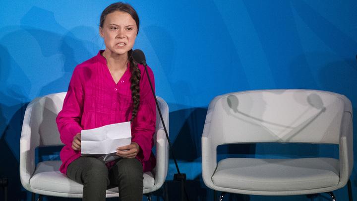Надо о воде думать, а не ее лить: Российский эколог опроверг все научные стенания Греты Тунберг