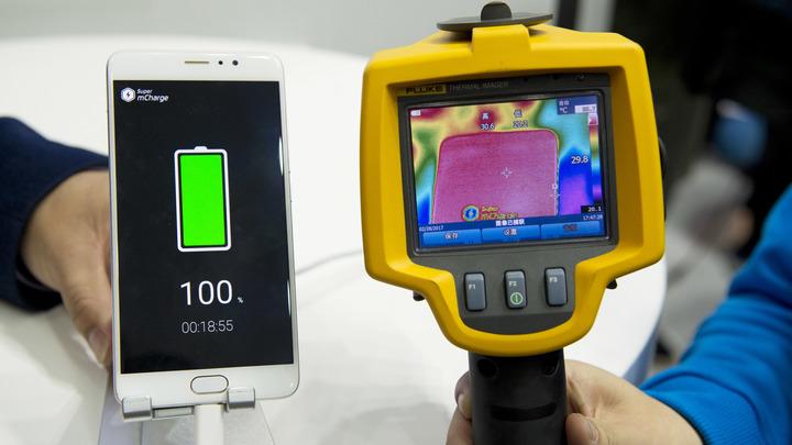 В Корее придумали, как зарядить смартфон за 30 секунд