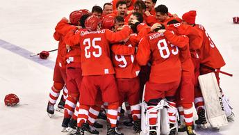Новая провокация: NY Post требует жестко покарать русских хоккеистов за исполнение гимна России