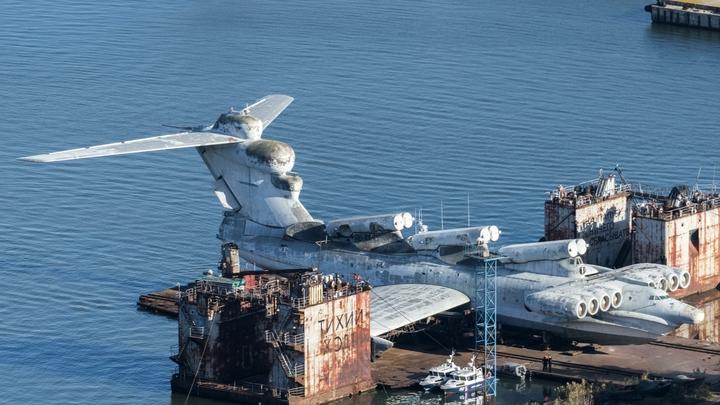 Forbes затопил уникальный советский боевой корабль-экраноплан