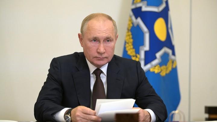 Путин рассказал, сколько человек из его окружения заболели Covid-19