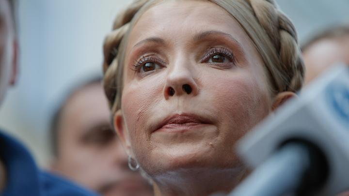 Она без чувства юмора: В России ждут, что после победы Тимошенко на выборах смешно не будет