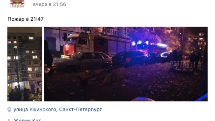 Пожилой петербуржец погиб в пожаре на Гражданском проспекте