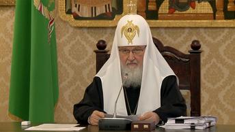 Патриарх Кирилл: Ложь - не драматургический прием