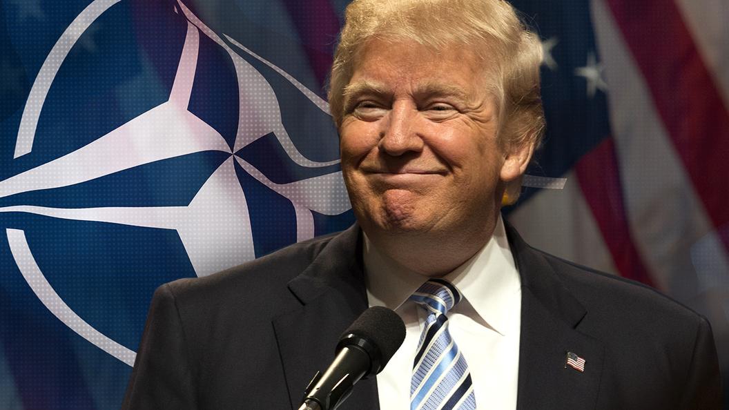 Сменил гнев на милость: Трамп уже не считает НАТО устаревшим
