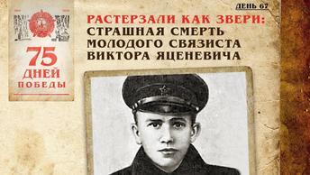 Растерзали как звери: Страшная смерть молодого связиста Виктора Яценевича