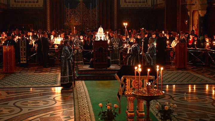 Четверток Великого канона. Православный календарь на 11 апреля
