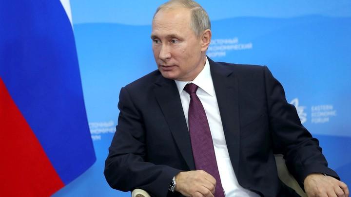 Президент России Владимир Путин проголосовал на выборах в муниципалитеты в Москве