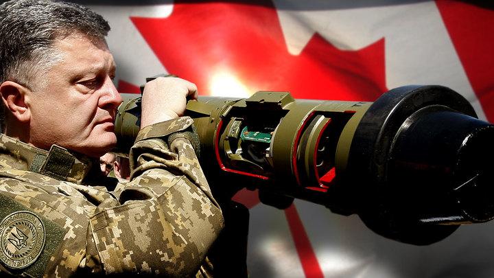 Канада позволит Порошенко заработать на летальном оружии