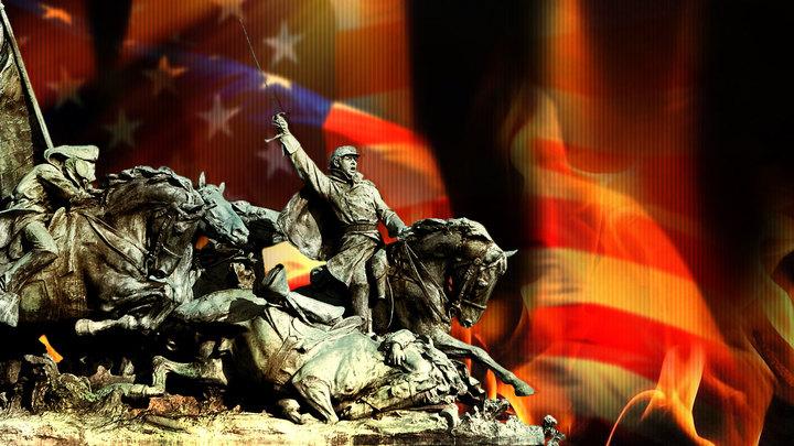 Америка сползает к новой гражданской войне