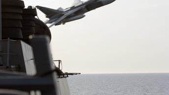 Не было такого: Пентагон отрицает информацию о сближении самолетов ВКС России с эсминцем США
