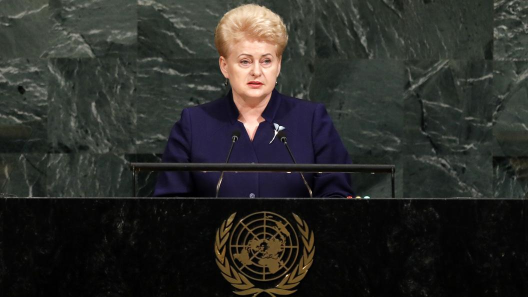 Марионетки США в деле: Президент Литвы подписала аналог акта Магнитского