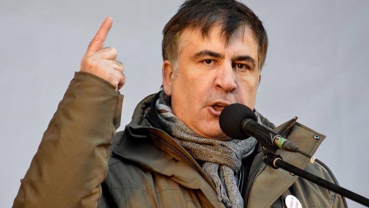 Поесть: Саакашвили рассказал о планах по спасению Украины
