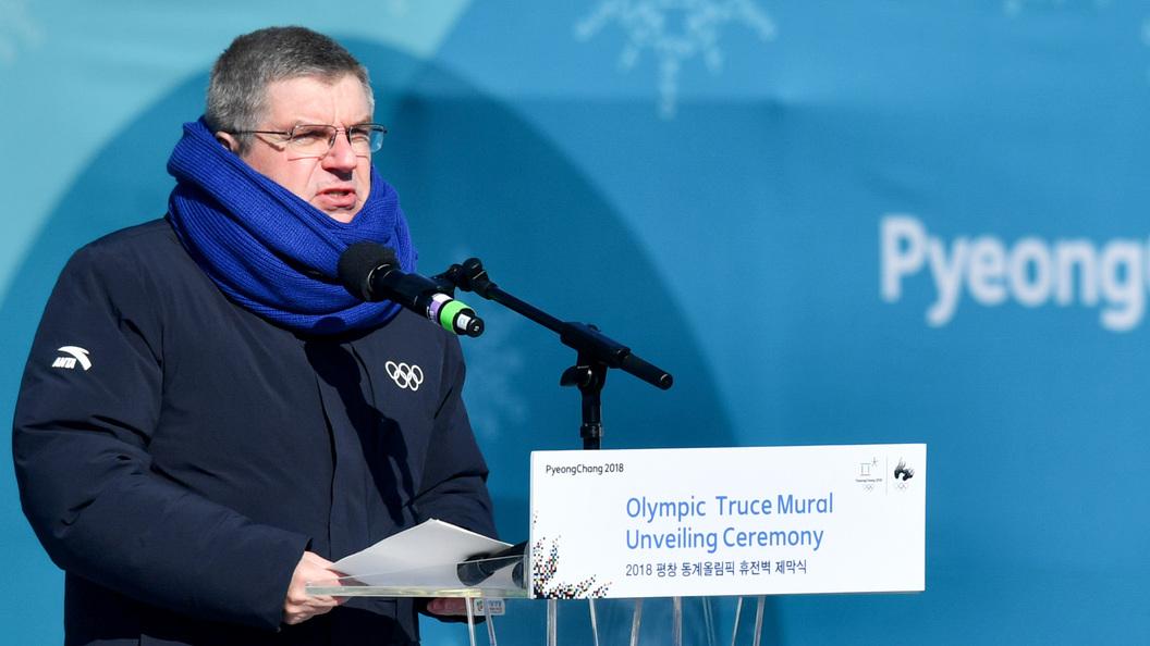 Бах призналсяДаже усиленный контроль русских атлетов не смог доказать их вину