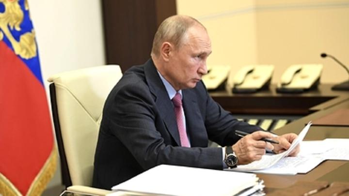 В субботу. Неожиданно: Путин удивил своей внезапностью кремлёвский пул