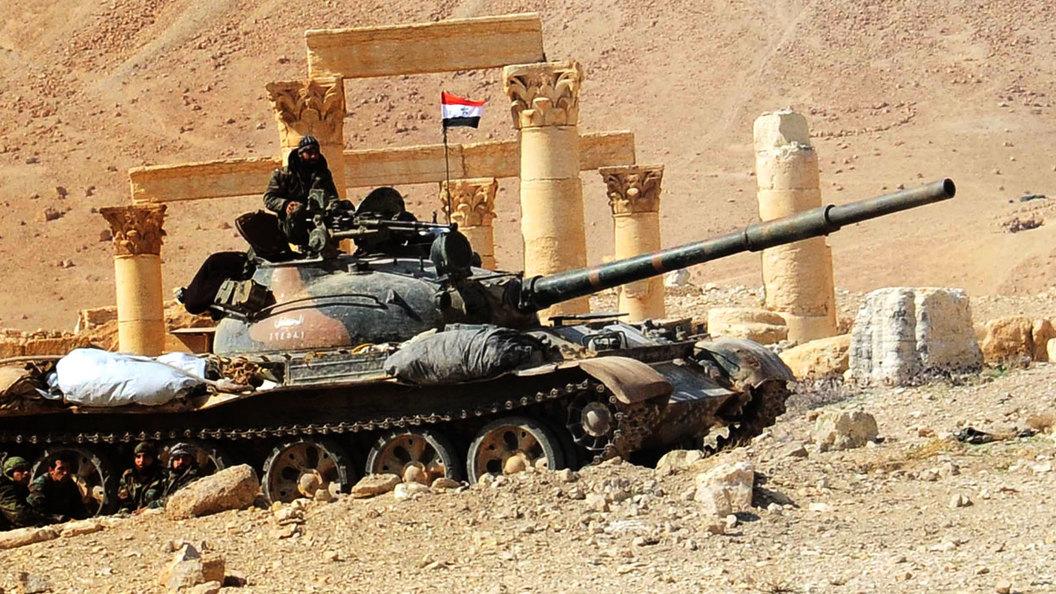 В Сирии - 1944 год. Но США - враг, а не союзник