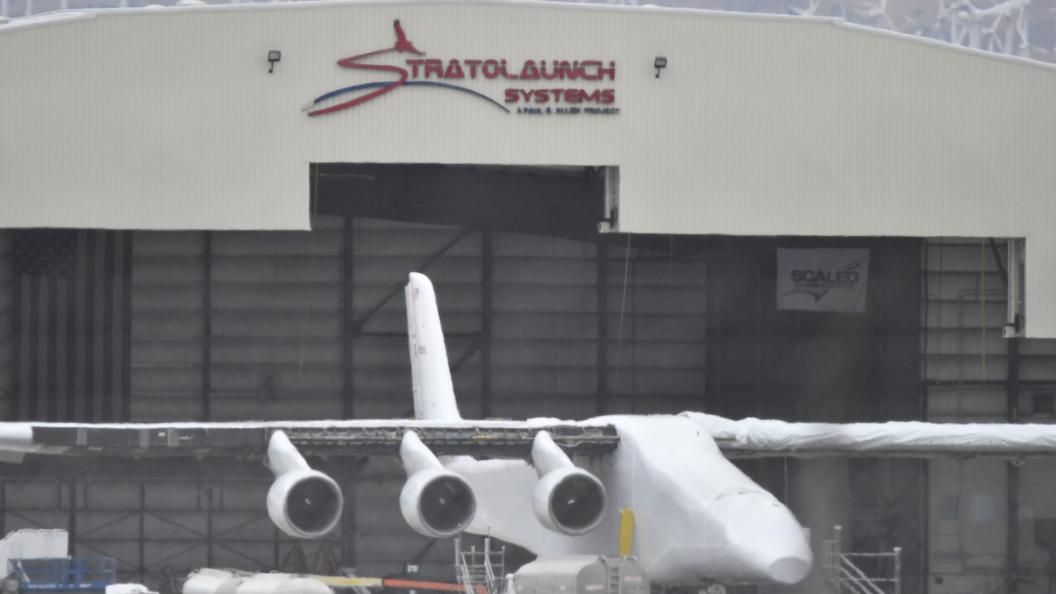 В США опубликовали видео испытания самого большого в мире транспортного самолета