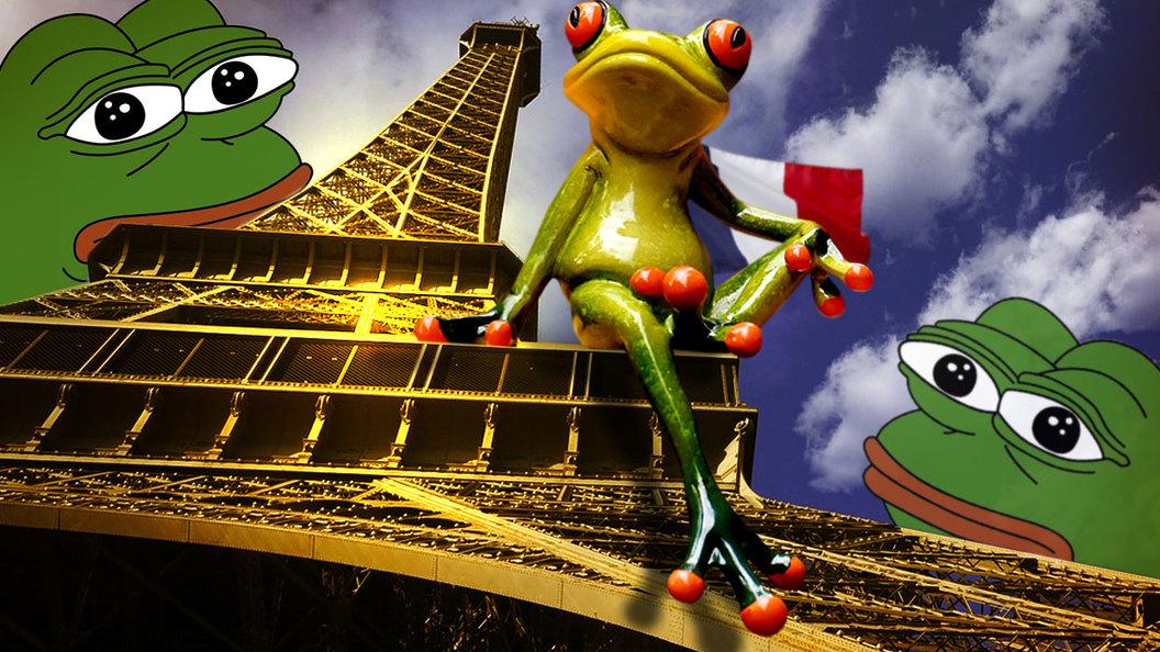 Пепе Ле Пен: война мемов перетекла во Францию?