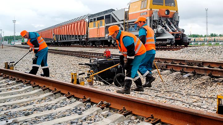 Офшорные металлурги срывают строительство железных дорог