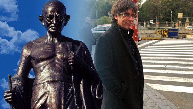 Чем отличается Махатма Ганди от Карлеса Пучдемона