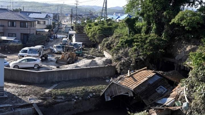 Японское наводнение лишило мир новых Mazda и Mitsubishi