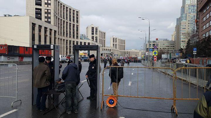 Организаторы митинга против изоляции Рунета не пускают корреспондента Царьграда