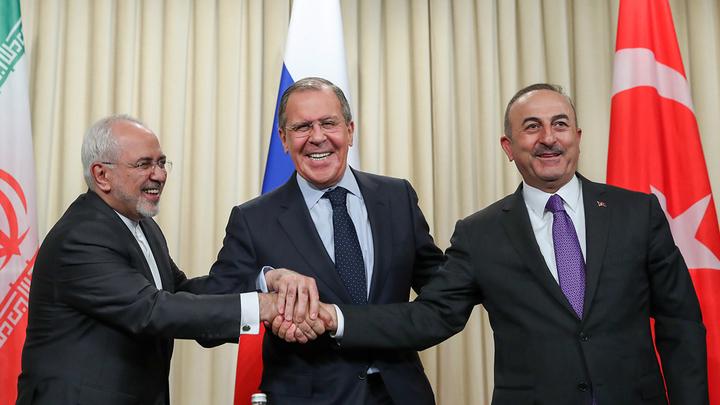 США не смогли внести раскол между Россией, Ираном и Турцией