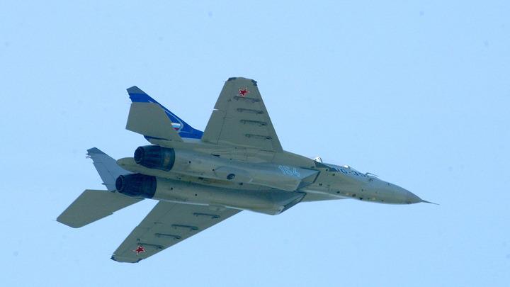 В Сети появилось видео загоревшегося под Пермью истребителя МиГ-31