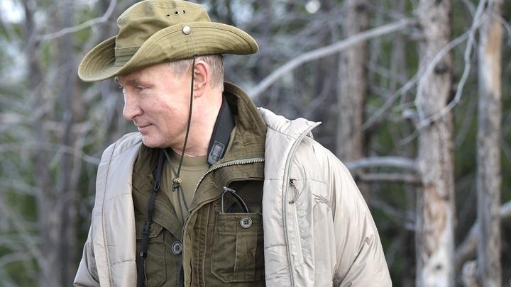 «Провел в тайге»: Песков поделился подробностями субботнего отдыха Путина