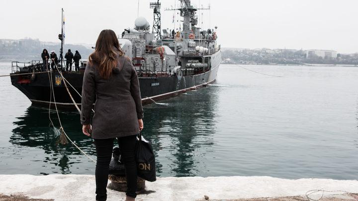 На Украине задним числом придумали благородное объяснение потере флота в Крыму
