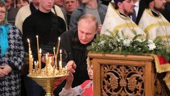 Владимир Путин прилетел на Рождество в Санкт-Петербург