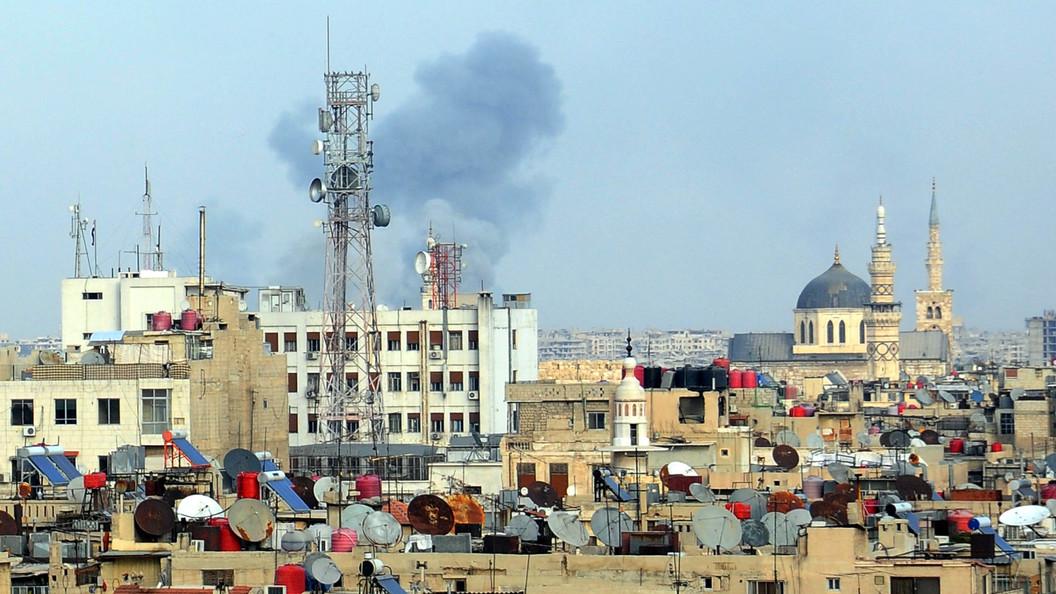 Всирийской Гуте ввели гуманитарное перемирие